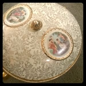 Empire covered serving dish